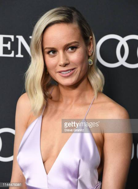 Brie Larson arrives at the world premiere Of Walt Disney Studios Motion Pictures Avengers Endgame at Los Angeles Convention Center on April 22 2019...