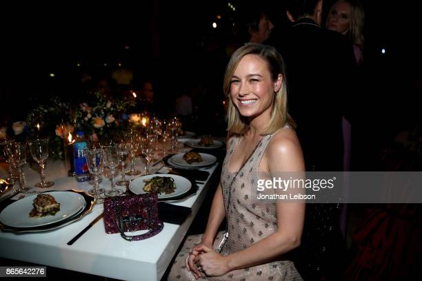 Brie Larson at the 2017 InStyle Awards presented in partnership with FIJI WaterAssignment at The Getty Center on October 23 2017 in Los Angeles...