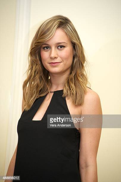 Brie Larson at the 'Room' Press Conference at the Fairmont Royal York on September 16 2015 in Toronto Ontario
