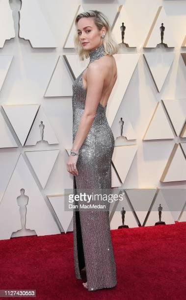 Brie Larson attend the 91st Annual Academy Awards at Hollywood and Highland on February 24 2019 in Hollywood California
