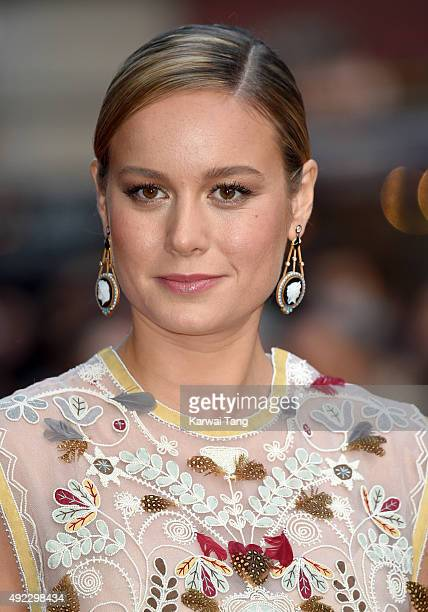 Brie Larson attends a screening of 'Room' during the BFI London Film Festival at Vue Leicester Square on October 11, 2015 in London, England.