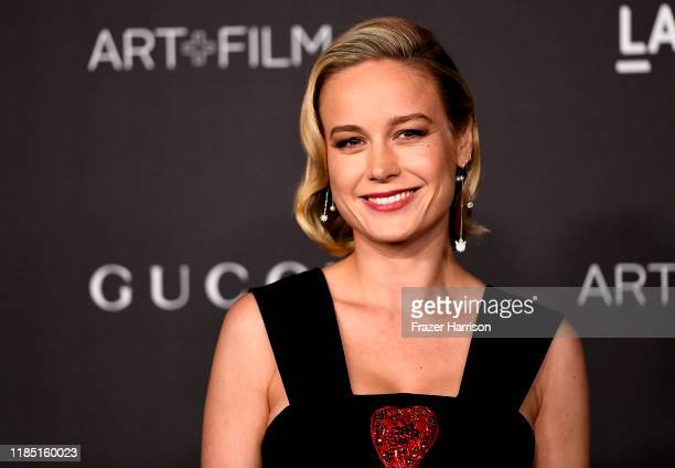 Brie Larson attends the 2019 LACMA 2019 Art + Film Gala Presented By Gucci on November 02, 2019 in Los Angeles, California.