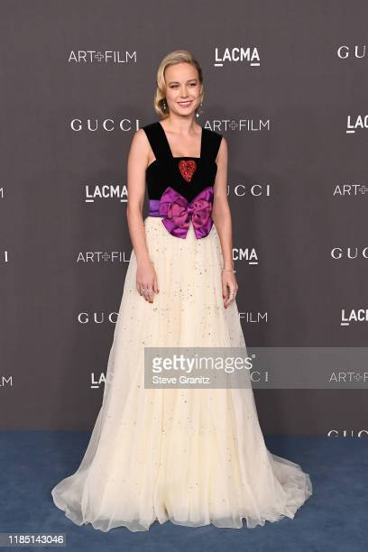 Brie Larson attends the 2019 LACMA Art + Film Gala Presented By Gucci at LACMA on November 02, 2019 in Los Angeles, California.