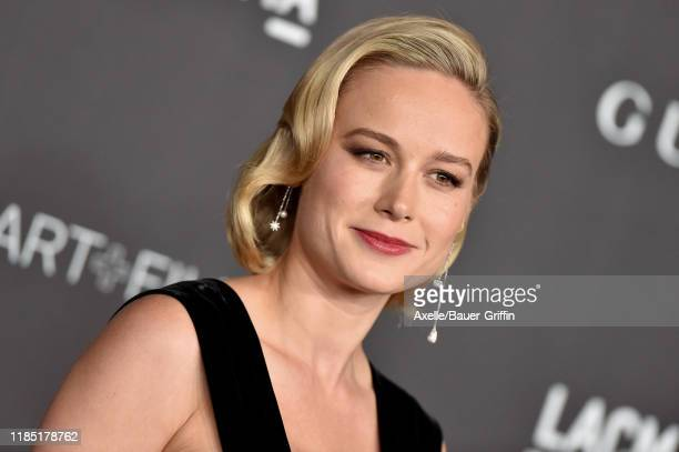 Brie Larson attends the 2019 LACMA Art + Film Gala Presented By Gucci on November 02, 2019 in Los Angeles, California.