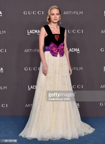 Brie Larson attends the 2019 LACMA Art Film Gala Presented By Gucci on November 02 2019 in Los Angeles California