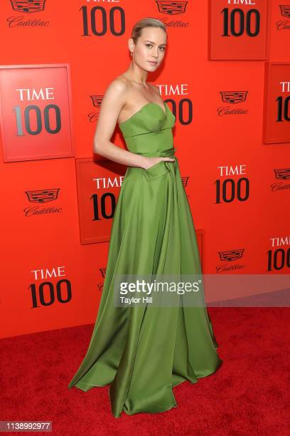 Brie Larson attends the 2019 Time 100 Gala at Frederick P Rose Hall Jazz at Lincoln Center on April 23 2019 in New York City