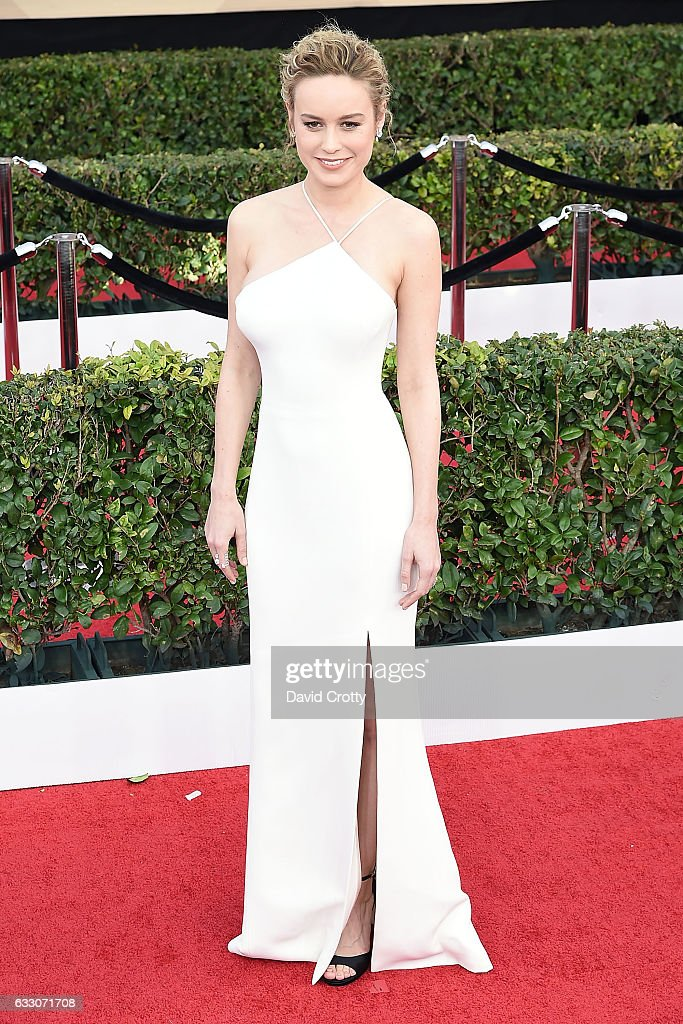 Brie Larson attends the 23rd Annual Screen Actors Guild Awards at The Shrine Expo Hall on January 29, 2017 in Los Angeles, California.