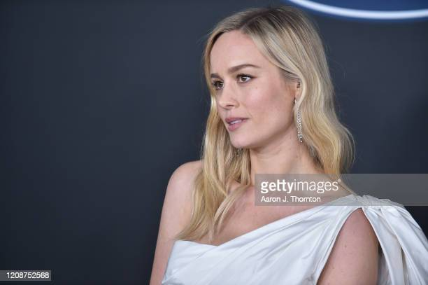 Brie Larson attends the 51st NAACP Image Awards at the Pasadena Civic Auditorium on February 22 2020 in Pasadena California