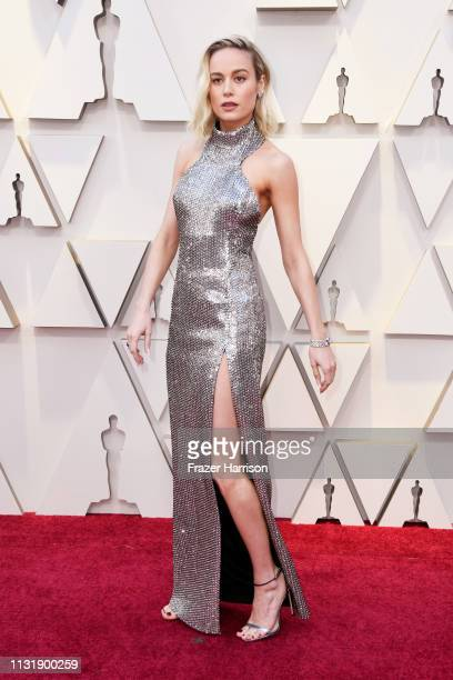 Brie Larson attends the 91st Annual Academy Awards at Hollywood and Highland on February 24 2019 in Hollywood California