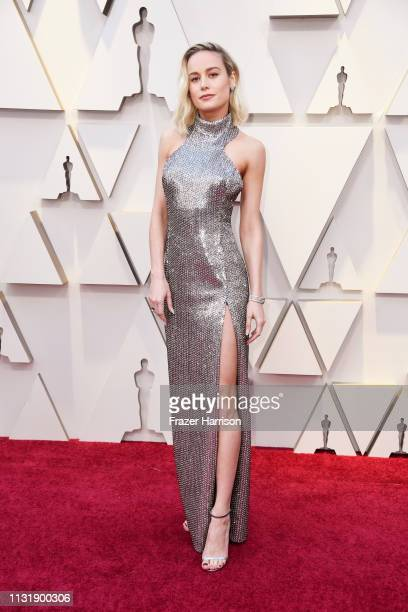 Brie Larson attends the 91st Annual Academy Awards at Hollywood and Highland on February 24, 2019 in Hollywood, California.