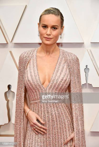 Brie Larson attends the 92nd Annual Academy Awards at Hollywood and Highland on February 09 2020 in Hollywood California
