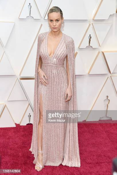 Brie Larson attends the 92nd Annual Academy Awards at Hollywood and Highland on February 09, 2020 in Hollywood, California.