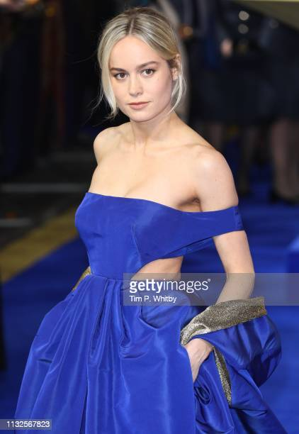 Brie Larson attends the Captain Marvel European Gala Premiere held at The Curzon Mayfair on February 27 2019 in London England