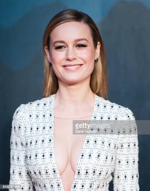 Brie Larson attends the European premiere Of 'Kong Skull Island' on February 28 2017 in London United Kingdom