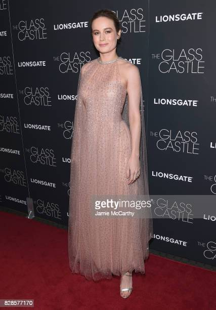 Brie Larson attends 'The Glass Castle' New York Screening at SVA Theatre on August 9 2017 in New York City