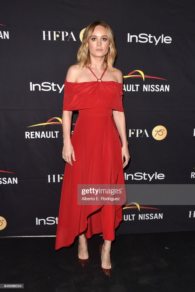 Brie Larson attends the HFPA & InStyle annual celebration of 2017 Toronto International Film Festival at Windsor Arms Hotel on September 9, 2017 in Toronto, Canada.