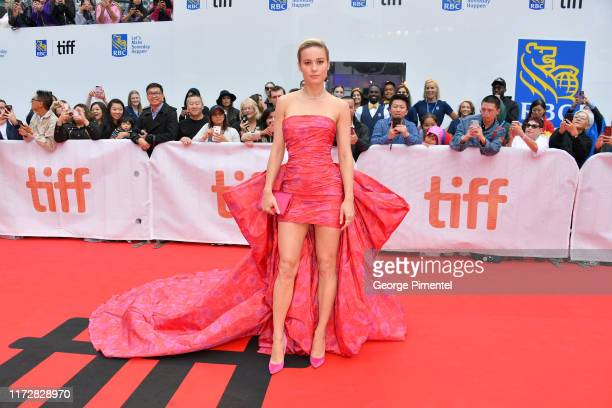 """Brie Larson attends the """"Just Mercy"""" premiere during the 2019 Toronto International Film Festival at Roy Thomson Hall on September 06, 2019 in..."""