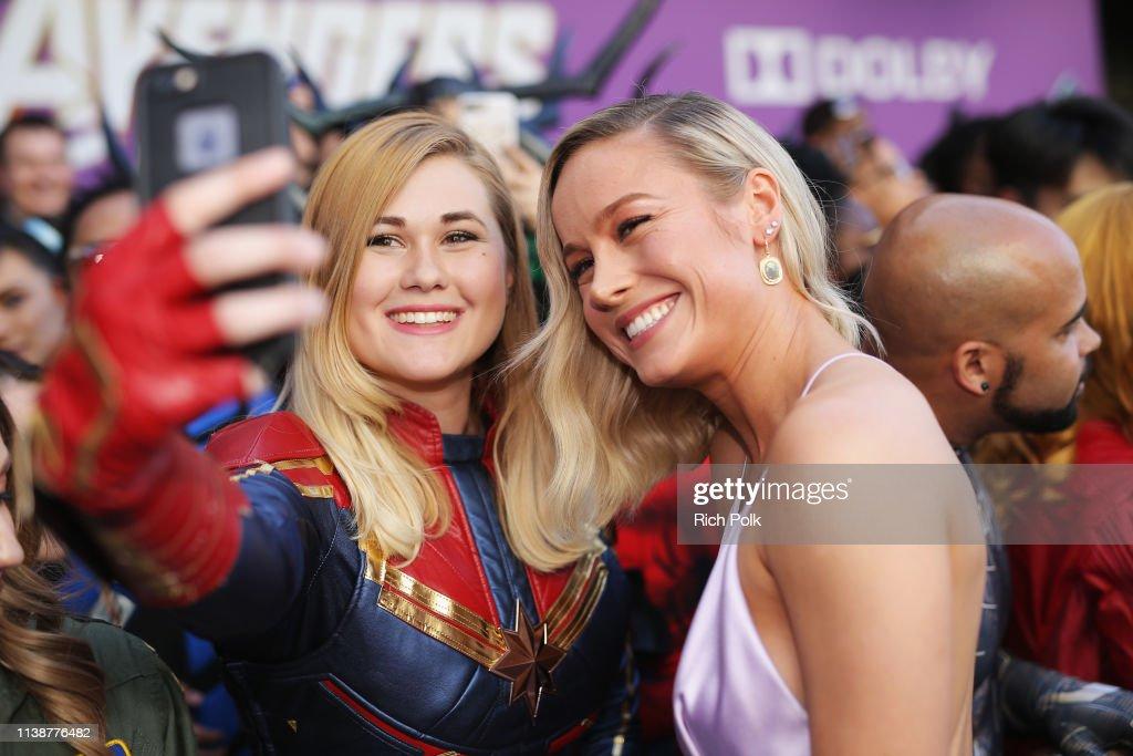 "Los Angeles World Premiere Of Marvel Studios' ""Avengers: Endgame"" : Nachrichtenfoto"