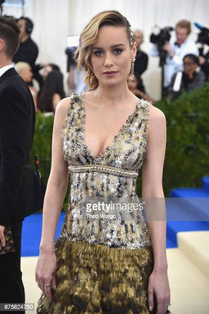 Brie Larson attends the 'Rei Kawakubo/Comme des Garcons Art Of The InBetween' Costume Institute Gala at Metropolitan Museum of Art on May 1 2017 in...