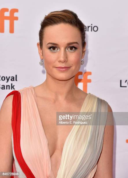 Brie Larson attends the Unicorn Store premiere during the 2017 Toronto International Film Festival at Ryerson Theatre on September 11 2017 in Toronto...