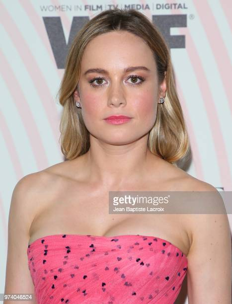 Brie Larson attends the Women In Film 2018 Crystal Lucy Awards at The Beverly Hilton Hotel on June 13 2018 in Beverly Hills California