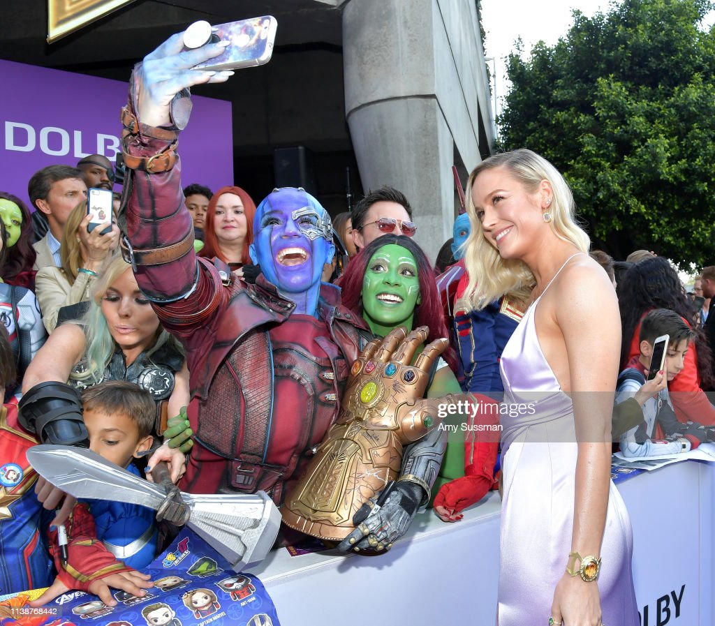 "CA: World Premiere Of Walt Disney Studios Motion Pictures ""Avengers: Endgame"" - Red Carpet"