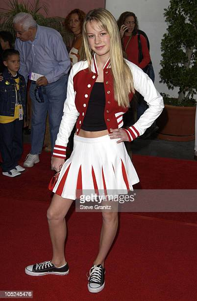 Brie Larson during 'The Cat In The Hat' World Premiere at Universal Studios Cinema in Universal City California United States