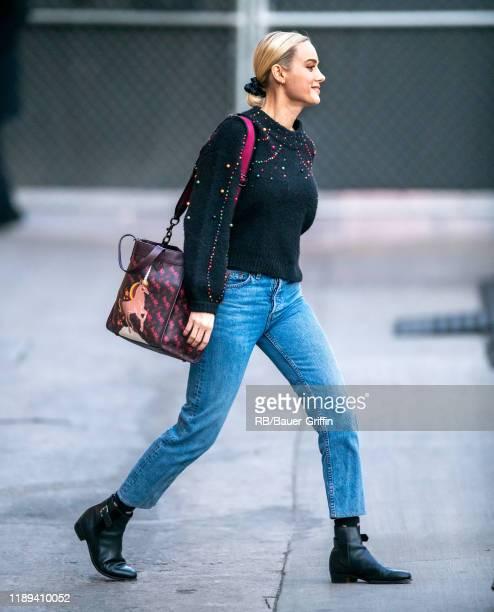 Brie Larson is seen on December 17 2019 in Los Angeles California