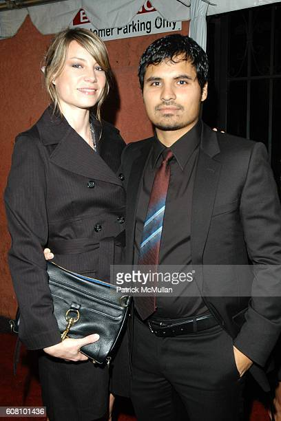 Brie Shaffer and Michael Pena attend Hollywood Life's Breakthrough of the Year Awards Arrivals at Hollywood on December 10 2006
