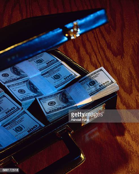 Briefcase Full of Cash