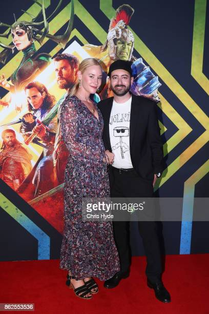 Briegh Winderbaum and Brad Winderbaum arrives for the Thor Ragnarok Australian Premiere at Event Cinemas Robina on October 13 2017 in Gold Coast...