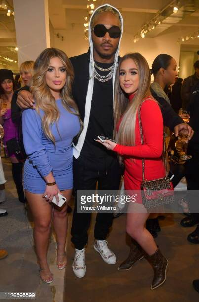 Brielle Biermann and Future attend Dior Summer Men's Collection Hosted by Future at Jeffrey AtlantaPhipps Plaza on January 31 2019 in Atlanta Georgia