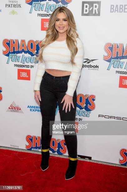 Brielle Biermann attends Shaq's Fun House at Live At The Battery on February 01 2019 in Atlanta Georgia