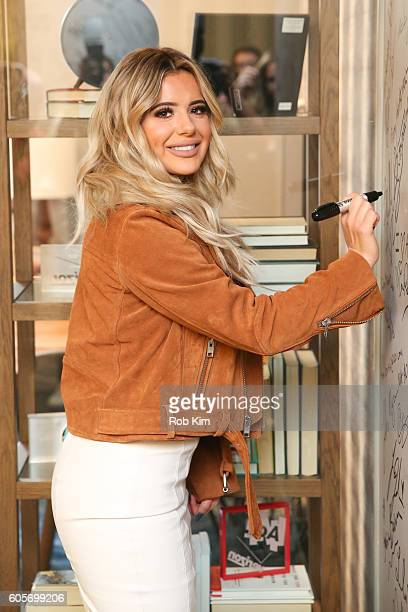 Brielle Biermann signs her autograph at AOL BUILD Series at AOL HQ on September 14 2016 in New York City