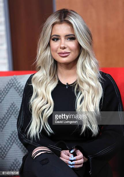 Brielle Biermann visits Hollywood Today Live at W Hollywood on October 13 2016 in Hollywood California
