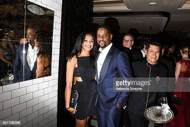 Brielle Underwood and Blair Underwood at the official Tony Awards afterparty at the Plaza Hotel in New York NY on June 12 2016