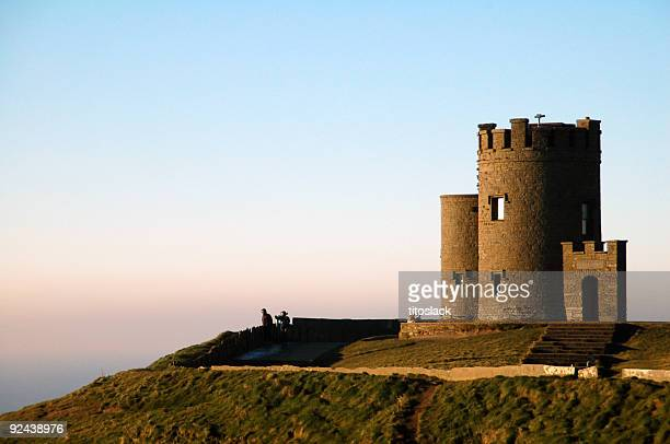 o'brien's tower - castle stock photos and pictures
