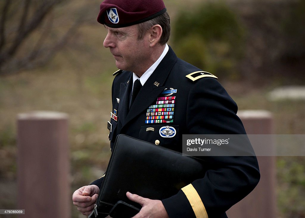 Army General To Enter Into Plea Deal In Military Sexual Assault Case : News Photo