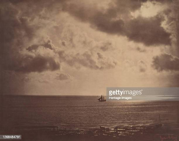 Brig on the Water, 1856. Artist Gustave Le Gray.