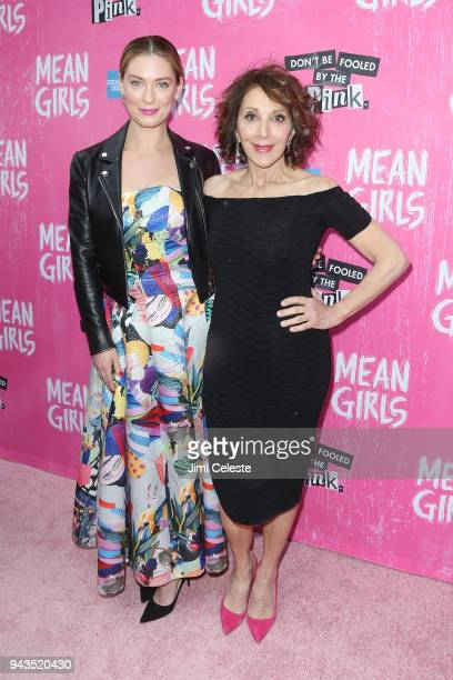 Briga Heelan and Andrea Martin attend the opening night of 'Mean Girls' on Broadway at August Wilson Theatre on April 8 2018 in New York City