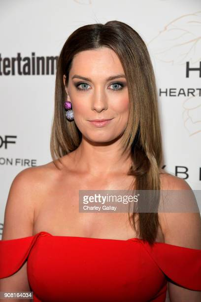 Briga Heelan attends Entertainment Weekly's Screen Actors Guild Award Nominees Celebration sponsored by Maybelline New York at Chateau Marmont on...