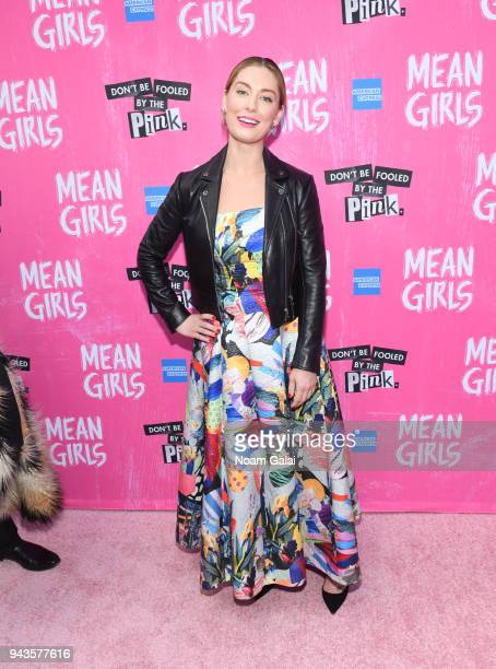 Briga Heelan attends the opening night of 'Mean Girls' on Broadway at August Wilson Theatre on April 8 2018 in New York City