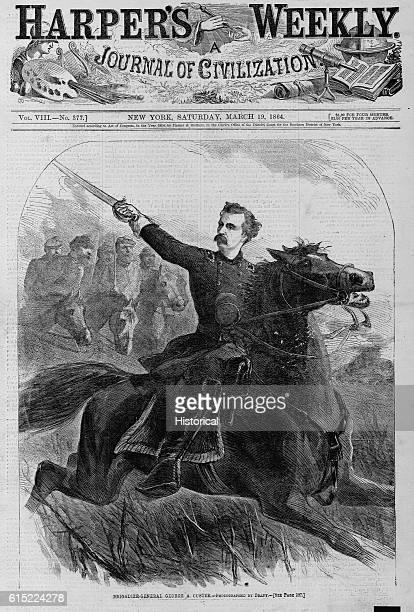 BrigadierGeneral George A Custer