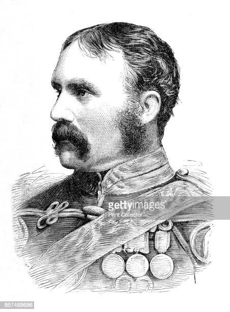 BrigadierGeneral H F Brooke' circa 1880 Episode of the Second AngloAfghan War from 1878 to 1880 From British Battles on Land and Sea Vol IV by James...