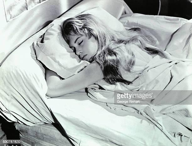 Brigette Bardot in the Light Across the Street