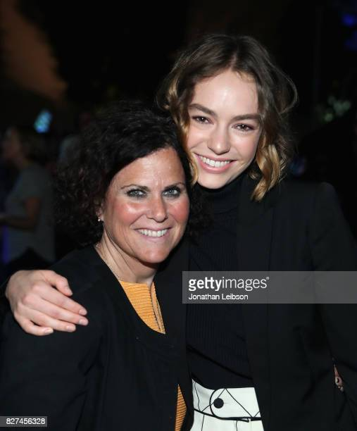 Brigette LundyPaine and guest attend the Netflix original series 'Atypical' special screening on August 7 2017 in Los Angeles California