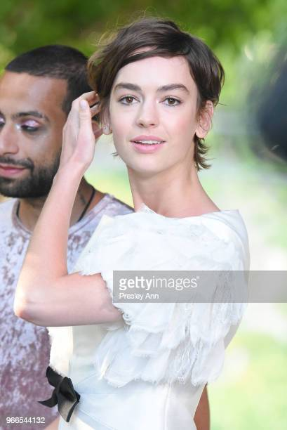 Brigette LundyPaine attends CHANEL Dinner Celebrating Our Majestic Oceans A Benefit For NRDC on June 2 2018 in Malibu California