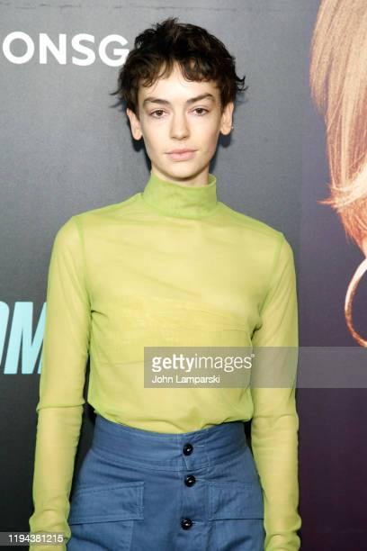 Brigette LundyPaine attends the Bombshell New York Screening at Jazz at Lincoln Center on December 16 2019 in New York City