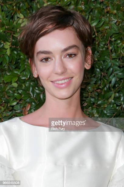 Brigette LundyPaine attends the CHANEL Dinner Celebrating Our Majestic Oceans A Benefit For NRDC on June 2 2018 in Malibu California