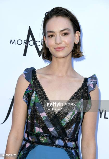 Brigette LundyPaine attends The Daily Front Row's 4th Annual Fashion Los Angeles Awards at Beverly Hills Hotel on April 8 2018 in Beverly Hills...
